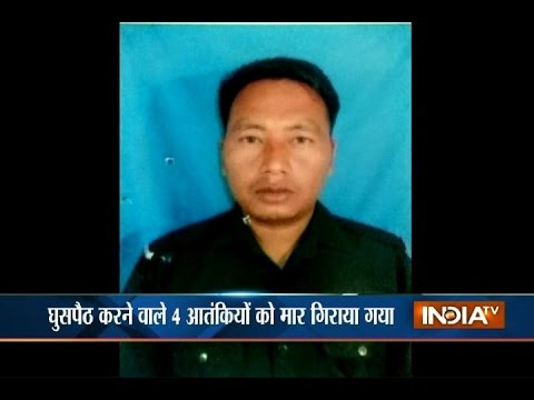 Martyred Indian army jawan shot down 4 terrorists in an encounter at Naugaon sector near LoC