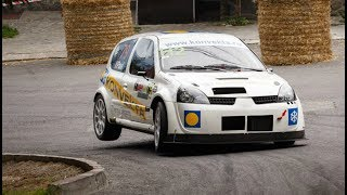 Hillclimb Sinaia 2017 Maximum Attack and Launch Start - Mitsubishi Dacia Subaru Honda Renault Part.5