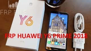 Solution Bypass FRP Huawei Y6 prime 2018 (ATU-L42) android Oreo 8.0