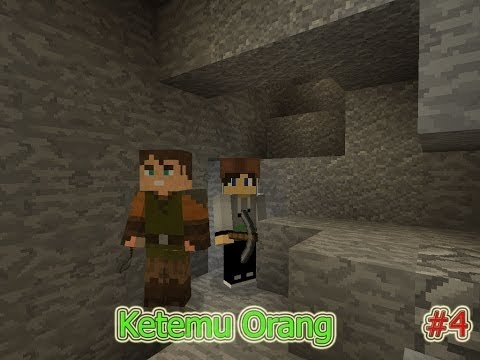 Minecraft Survival Indonesia - Mining Malah Ketemu Orang #4