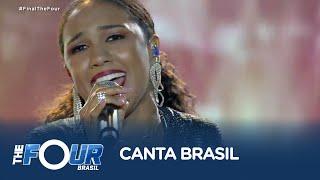 Baixar Nega encanta plateia do The Four Brasil com música de Gal Costa
