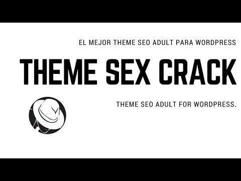 Theme Adult SexCrack plantilla para wordpress seo optimizada