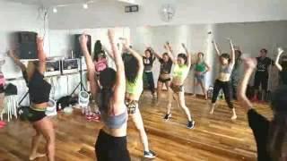 Work out- Kes & Nailah Blackman / Soca Dance Class by Chiaki Iida