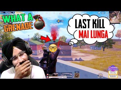 Last Kill Mai Lungaa : PUBG MOBILE Funny Highlights