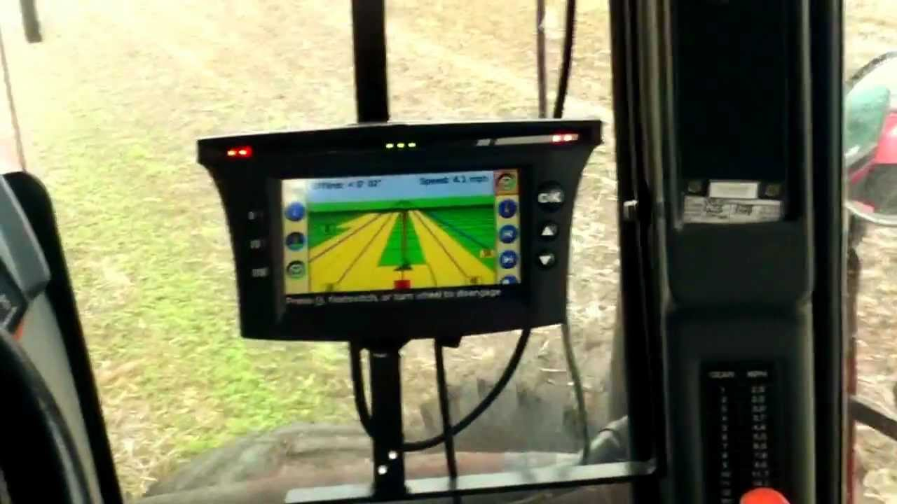 Trimble ez steer 500 custom switch youtube sciox Images