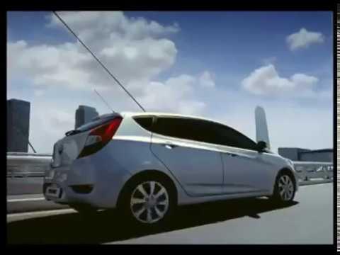 Рекламный ролик Хендай Солярис хэтчбек