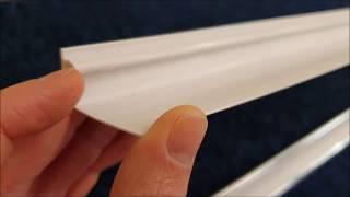 Plastic Ceiling Cladding - 2 Part Coving Trim
