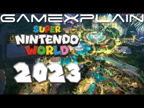 Super Nintendo World (Probably) Coming to Orlando in 2023; Epic Universe Opening Year Revealed!