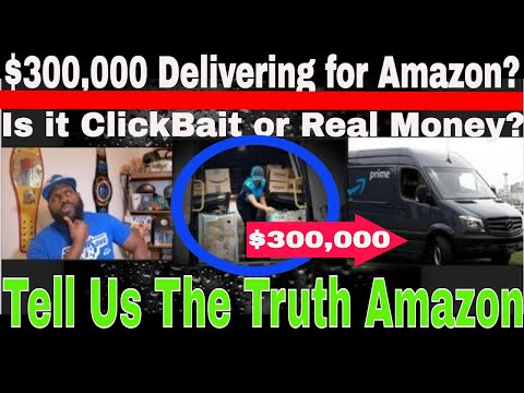Can You Really Make $300,000 With Amazon Delivery? |Clickbait or Real Money for a Hot Date?