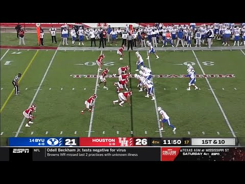 NCAAF 2020 Week 07 BYU vs Houston