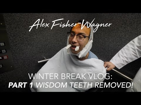 Getting My Wisdom Teeth PULLED! | Part 1