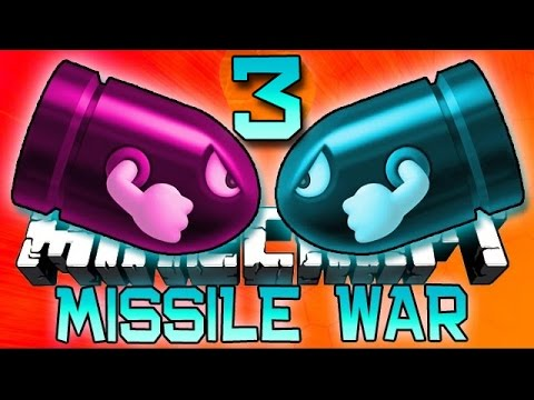 Minecraft: MISSILE WARS 3 Mini-Game with The Pack!