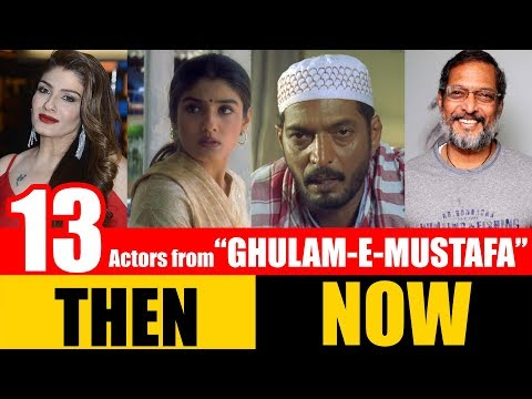 "13 Bollywood Actors From ""GHULAM-E-MUSTAFA"" 1997 