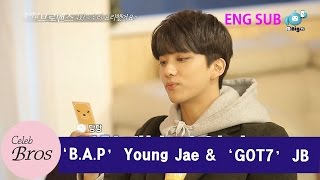 "Young Jae & JB Celeb Bros EP4 ""We've cooked"""