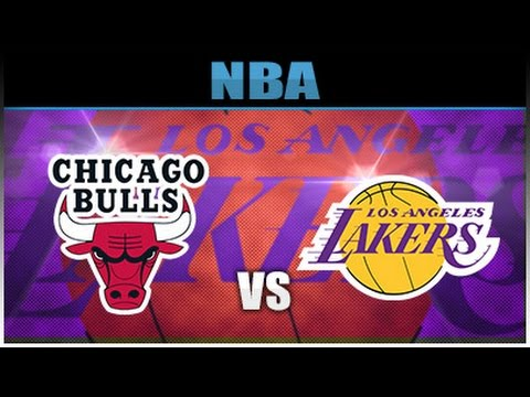 "(NBA 2K17) 96 BULLS VS 80'S LAKERS ""Who's The Best"" GAME #1"