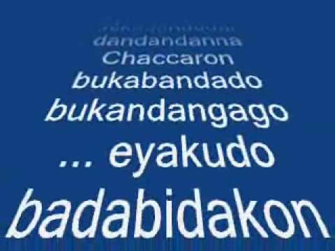 Chaccaron Maccaron Lyrics