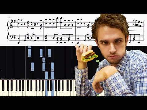 Zedd - The Middle - Piano Tutorial + SHEETS