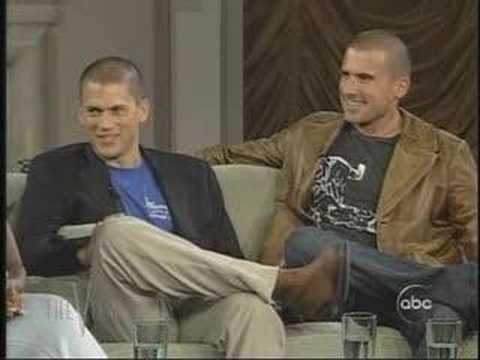 Dominic Purcell & Wentworth Miller View