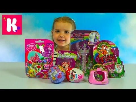 Видео: Сюрпризы  Обзор игрушек