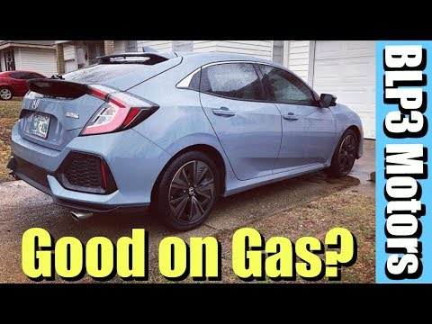 Is the Honda Civic Hatchback good on gas?? (CRAZY)