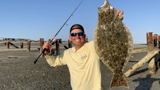 GIGANTIC Mexican Flounder!!! {Catch Clean Cook} Mag Bay Lodge