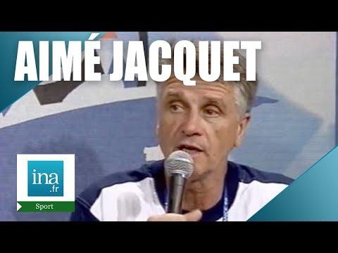 France 98 Aimé Jacquet quelques minutes après la victoire en 1/4 de finale - Archive vidéo INA