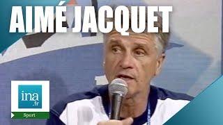 France 98 : Aimé Jacquet après la victoire en 1/4 de finale | Archive INA