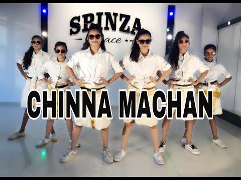 Chinna Machan | Dance Video | Charlie Chaplin2 | Prabhu Deva | Dance Choreography | SPINZA