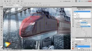 Adobe Photoshop CS5 : Effectuer le rendu 3D