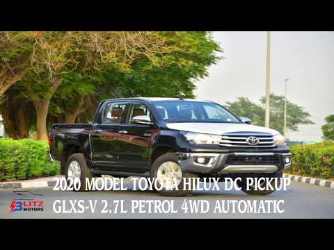 2020 MODEL TOYOTA HILUX DOUBLE CAB PICKUP GLXS-V 2.7L PETROL 4WD AUTOMATIC TRANSMISSION