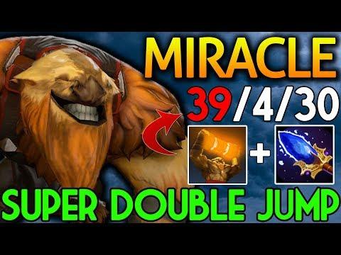 Miracle- Dota 2 [Earthshaker] Super Double Jump