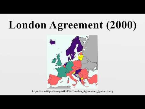 London Agreement (2000)