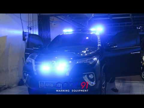 Toyota Fortuner SRZ w/ Whelen Justice, HHS2200, SA314A,  SA40 Lopro, Feniex Fusion - by Code.91