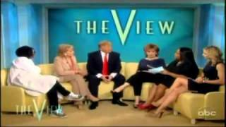 Donald Trump On The View 03/23/2011 Trump  Wants to See Obama