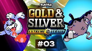 Pokemon Gold and Silver EXTREME Versus - EP03 | TIMESTAMP PLAIN BADGE!