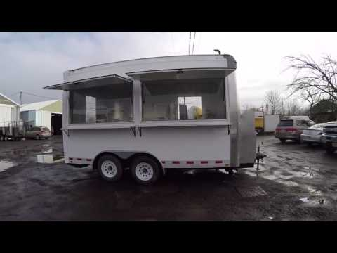 Custom Built 16FT Food Trailers with Generator on-board