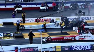 2019 Lucas Oil NHRA Winternationals Antron Brown Goes 333mph 3.696 Qualifying