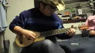 Gambar cover Tears in Heaven by Tuck with tiny guitar
