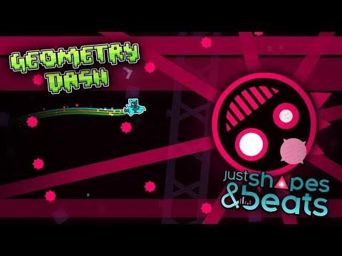 Cuando Geometry Dash conoce Just Shapes & Beats...