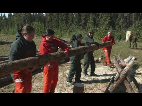 Junior Canadian Rangers Documentary – Enhanced Training Session