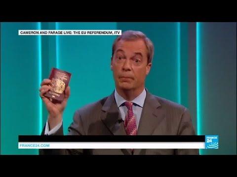 'Brexit' referendum: David Cameron takes on Nigel Farage in prime time debate