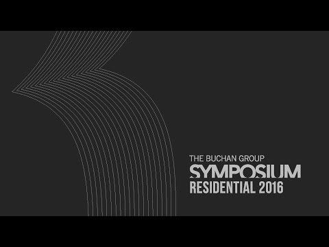 Buchan Group Symposium - Residential 2016 - Highlights