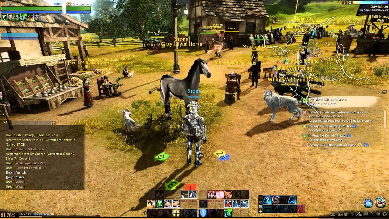 Archeage Online Gameplay