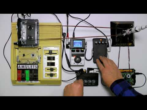 LIBRARY LOOPS | LIBRARY OF CONGRESS C-1 + TAPE LOOPS
