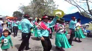 moseñada santiago de huata carnaval 2016 parque roca