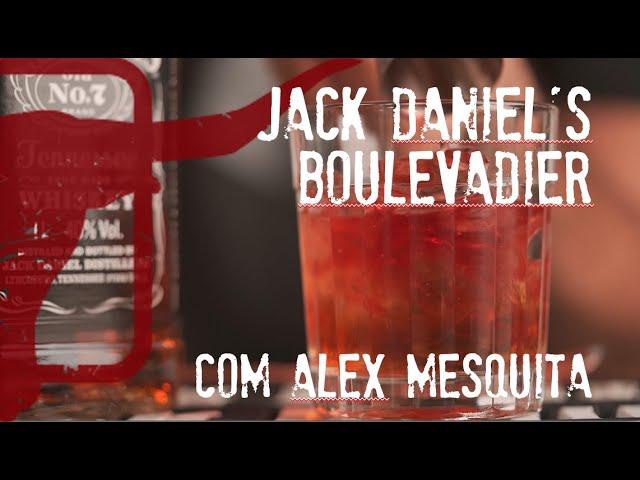 Jack Daniel's Boulevardier com Alex Mesquita