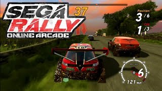 Sega Rally Online Arcade - Lakeside