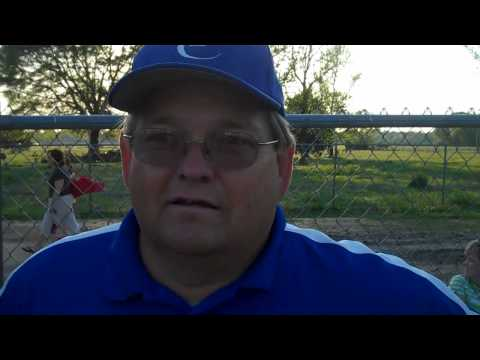 Tishomingo County High School Softball Coach Malcolm Brown