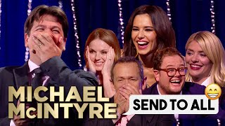 Funniest Celebrity Send To All Replies  Michael Mc Ntyre