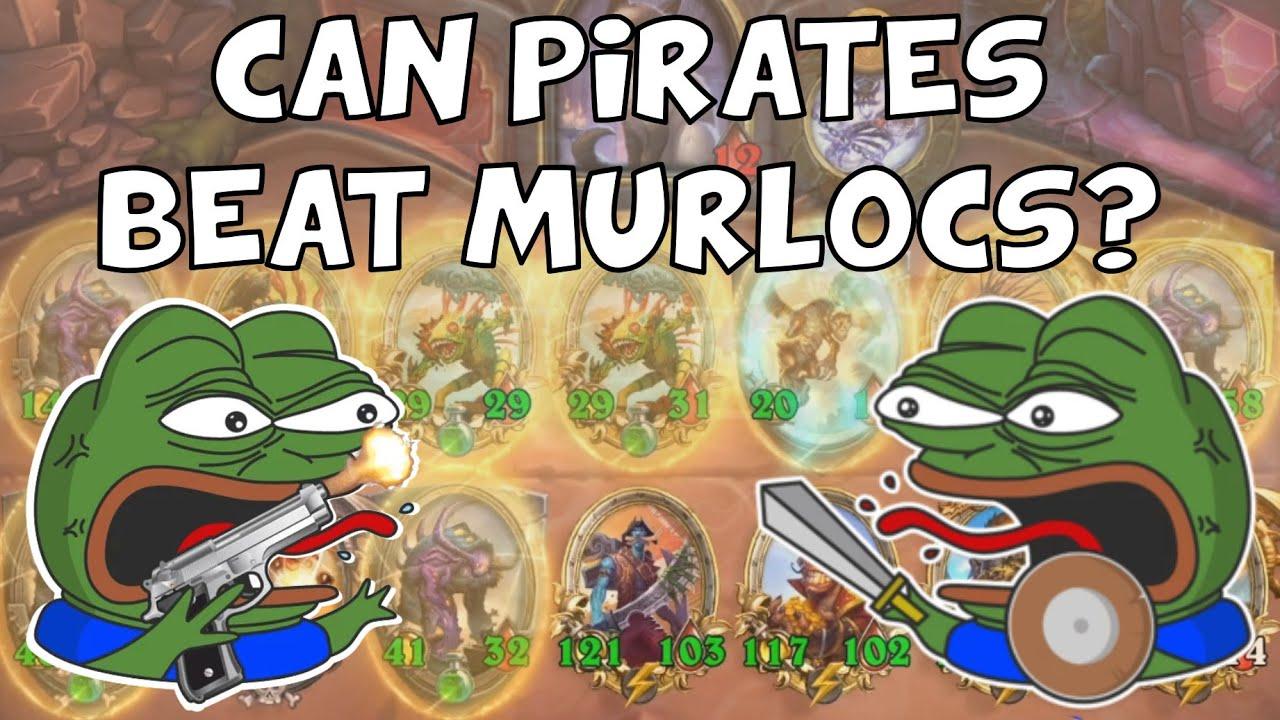 Can Pirates Beat Murlocs? - Hearthstone Battlegrounds